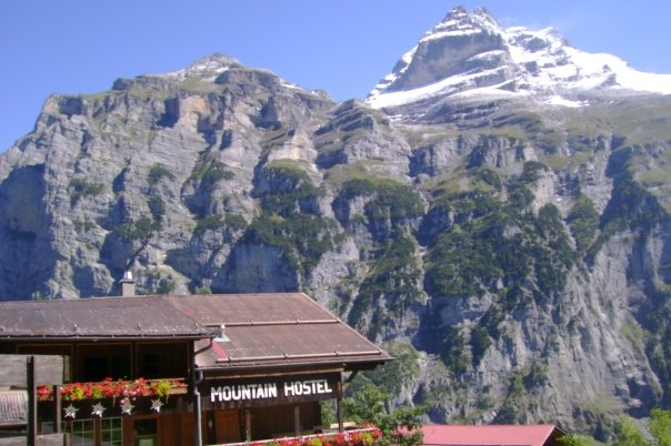 mountain hostel gimmelwald