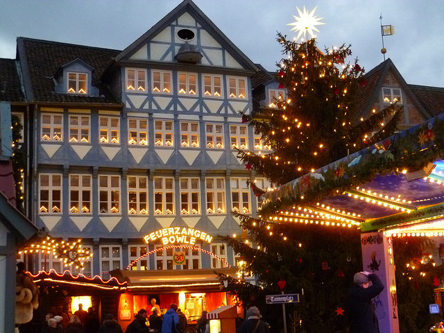 cozy christmas markets