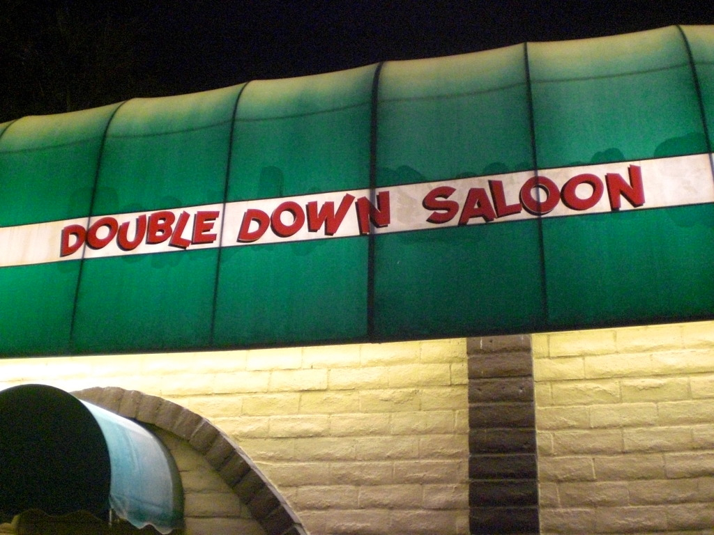 Rolling the dice at the double down saloon in las vegas - Dive bar definition ...
